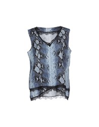 List Topwear Tops Women Blue