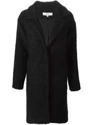 Vanessa Bruno Athe Matted Midi Coat Black