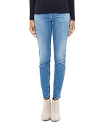 Ted Baker Skinny Jeans In Mid Blue