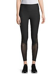 X By Gottex Mesh Insert Leggings Black