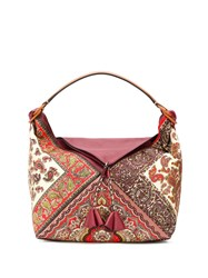 Etro Paisley Print Tote Red