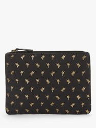 Star Mela Aloha Palm Print Purse Faded Black