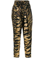 Dsquared2 Printed Tapered Trousers 60
