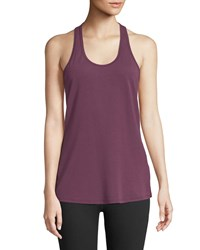The North Face Workout Scoop Neck Racerback Performance Tank Purple
