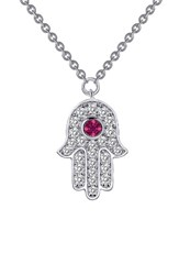 Lafonn Women's Simulated Diamond Hamsa Pendant Necklace