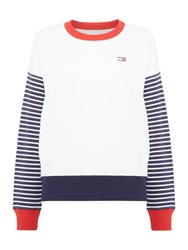 Tommy Hilfiger Raven Sweater White