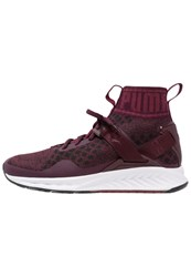 Puma Ignite Evoknit Neutral Running Shoes Winetasting Cabaret Black Bordeaux
