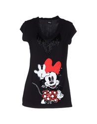 Disney T Shirts Black