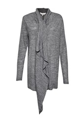 Great Plains Sofia Softs Draping Zip Cardi Grey