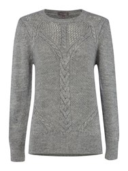 Pied A Terre Rope Detail Knit Grey