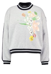 Gestuz Grace Sweatshirt Light Grey Melange