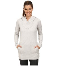 Lole Call You Tunic Warm Grey Heather Women's Long Sleeve Pullover Gray