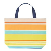 John Lewis Stripe Tote Beach Bag Large