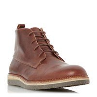 Dune Camden Flecked Wedge Chukka Boot Tan