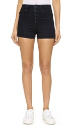 Helmut Lang Denim Shorts Dark Blue