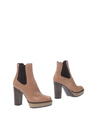 Manas Design Ankle Boots Light Brown