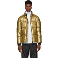 Mackage Gold Lustrous Greg Down Jacket