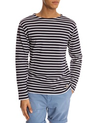 Armor Lux Navy And White 2297 Striped Jersey