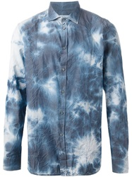 Paolo Pecora Bleached Shirt Blue