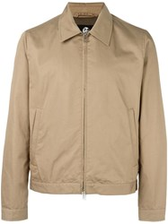 Paul Smith Ps By Zipped Short Jacket Nude Neutrals