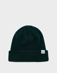 Norse Projects Beanie In Quartz Green
