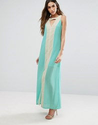 Jovonna Jovanna Dolce Vita Maxi Dress Green