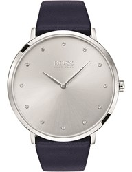 Boss 1502410 Jillian Stainless Steel And Leather Watch