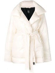 Bacon Belted Down Coat Neutrals