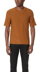 Christophe Lemaire Knitted Tee Cinnamon