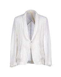 Forme D'expression Suits And Jackets Blazers Men Ivory