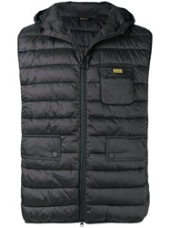 Barbour Ouston Quilted Gilet Black
