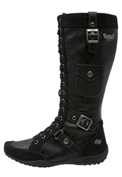 Dockers By Gerli Boots Schwarz Black