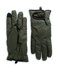 Echo Adjustable Wristband Gloves Olive Green