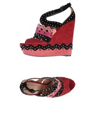 Alaia Sandals Red
