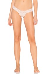 Les Coquines Zoe Thong Beige