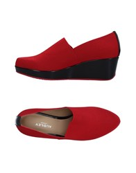 Audley Loafers Red