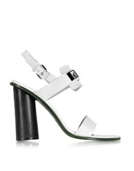 Proenza Schouler White Leather High Heel Sandal