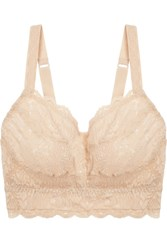 Cosabella Never Say Never Curvy Sweetie Stretch Lace Soft Cup Bra Blush