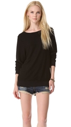 Wildfox Couture Basic Pullover Jet Black