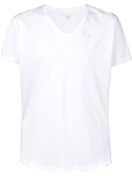 Orlebar Brown V Neck T Shirt White