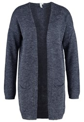 S.Oliver Denim Cardigan Dark Blue