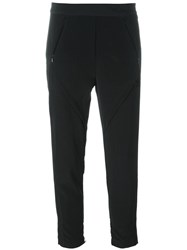 Adidas Originals Cropped Tracksuit Pants Black