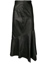 Chalayan Fishtail Skirt Black