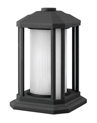 Hinkley Castelle Outdoor Pier Light 1397Bk Black Incandescent Multicolor