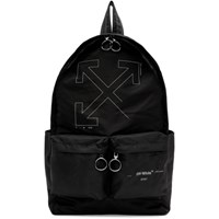 Off White Black Unfinished Arrows Backpack