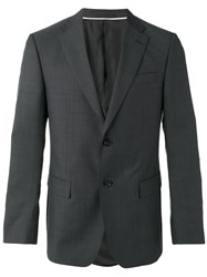 Z Zegna Single Breasted Suit Grey