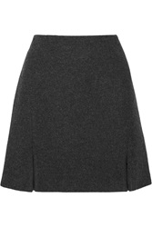 Wes Gordon Wool Mini Skirt