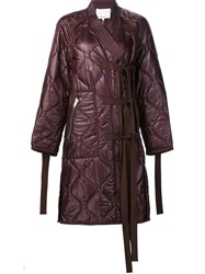 3.1 Phillip Lim Padded Jacket Pink And Purple