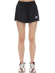 Nike Satin Shorts Black
