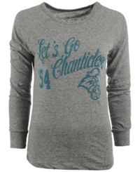 Royce Apparel Inc Women's Long Sleeve Coastal Carolina Chanticleers Graphic T Shirt Gray